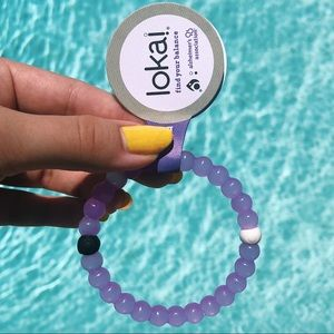 SMALL Purple Alzheimers Association Lokai Bracelet